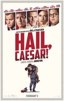 Hail, Caesar! - Rate-Review-Make Lists and more